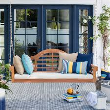 Where To Buy Patio Cushions by Belham Living Kimbro Lutyens Outdoor Porch Swing With Cushion