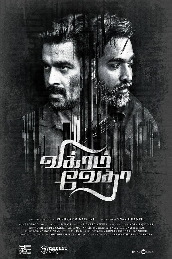 Vikram Vedha 2017 720p 1.6GB UNCUT HDRip [Hindi DD 2.0 – Tamil DD 5.1] ESubs MKV