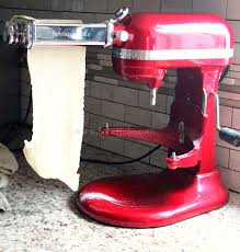 Kitchen Aid Pasta Maker by How To Make Homemade Pasta With Kitchenaid Mixer Sober Julie