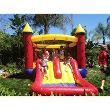 halloween bounce house jumporange kiddo jump u0027n u0027 water slide fun house walmart com