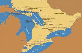 Hamilton Canada Map Waubetek Business Development Corporation Our Service Area
