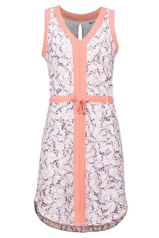 Marmot Remy Dress Coral Pink Confetti Medium 49560-7229-M
