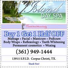 island day spa u0026 massage massage on north padre island in corpus