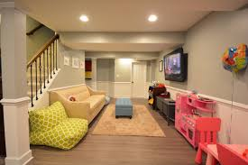 Ponden Home Interiors by New Finished Basement Kids Home Office Design