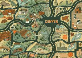 Peyton Colorado Map by Denver Neighborhood Maps Wall Google Search 3321 E Colfax