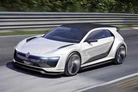 vw golf gte sport concept revealed with 395bhp hybrid engine