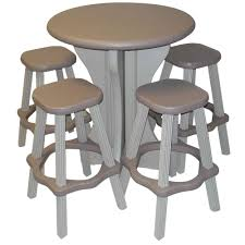 Patio Accents by Hanover Bistro Sets Patio Dining Furniture The Home Depot