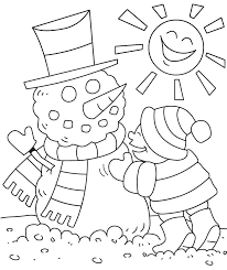 Coloring Ideas by Download Coloring Pages Winter Activities Coloring Pages Winter