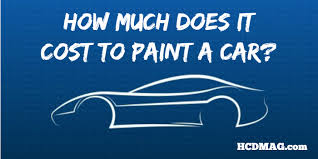 How Much Does An Apartment Cost How Much Does It Cost To Paint A Car 3 Actual Estimates