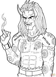 ogre coloring page free printable coloring pages