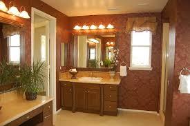 Bathroom Paint Color Ideas Beige Bathroom Interior Design Idea Feat Floral Accents Background