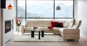 Low Back Sofa by Ekornes Stressless Wave Low Back Sofa Ambiente Modern Furniture