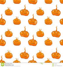 halloween cute background halloween seamless pumpkin vector background stock vector image