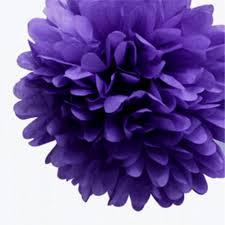 7 mixed size tissue paper pom pom shades of pink u0026 purple u2013 dotoly