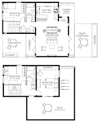 Free Floor Plans For Homes Small Guest House Plan Guest House Floor Plan Micro Homes Floor