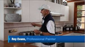 How To Paint Kitchen Cabinets Video How To Paint Laminate Cupboards Youtube