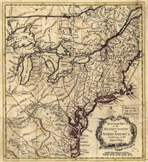 Map Of The Ohio River by 1750 To 1754 Pennsylvania Maps
