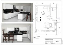 Large Open Kitchen Floor Plans by Kitchen Photograph Of Great Kitchen Furniture Fabulous L Shape