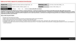 Sample Hr Coordinator Cover Letter Template