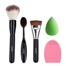 amazon com makeup brush oval toothbrush curve foundation brush