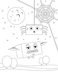 Halloween Preschool Printables Printable Halloween Colouring Pages Play Cbc Parents