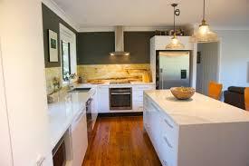1 wall kitchen with island u2013 modern house