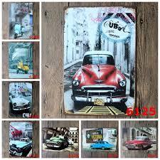 Vintage Home Decor Wholesale Retro Car Posters Promotion Shop For Promotional Retro Car Posters