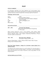 Examples Of Nursing Resumes For New Graduates Engineering Graduate Resume Sample Resume For Your Job Application