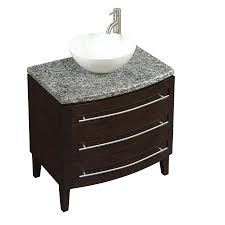 White Bathroom Vanity With Granite Top by Granite Vanity Top In Lava 36 Bathroom Vanity With Top Combo 36