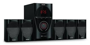 Philips Home Appliances Dealers In Bangalore Buy Philips Volcano Spa7000b 5 1 Speaker System Online At Best