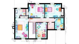 How To Get Floor Plans For My House An Interior Designer Explains The Unlikely Apartments Of U201cfriends