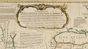 Map Of The Ohio River by Stevenwarran Research A Map Of The Middle British Colonies In