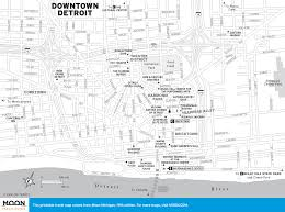 Detroit Michigan Map by Printable Travel Maps Of Michigan Moon Travel Guides