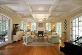 Exposed Beam Ceiling Living Room by Exposed Beam Ceiling Systems Custom Coffered Ceilings Ceiling