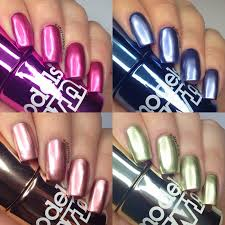 the polish list models own colour chrome swatches u0026 review