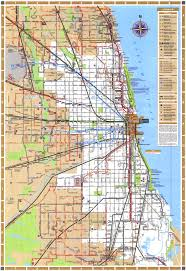 Chicago Line Map by Public Transportation Maps Homes Neighborhoods Live