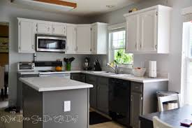 kitchen enchanting painted kitchen cabinets before and after