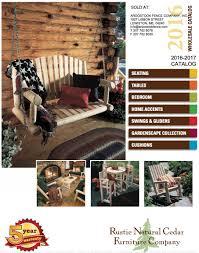 Cedar Bedroom Furniture Rustic Cedar Furniture Aroostook Fence