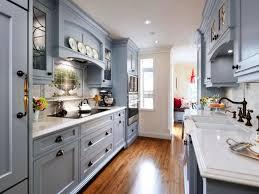 galley kitchen design as interior inspiration for modern kitchen