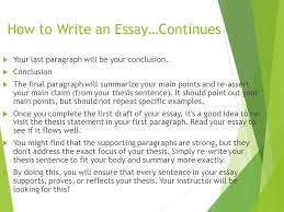 Essay formula   Essay about nature SlidePlayer
