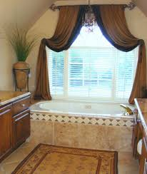 brownurtains for bathroom amazing brownoom window exceptional