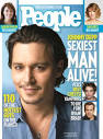PEOPLE Magazine's Sexiest Man Alive johnny depp. I'd be happy to see Johnny