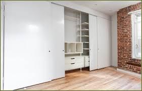 Closet Door Ideas Diy by Door Sliding Closet Doors Intended For Stunning Triple Track