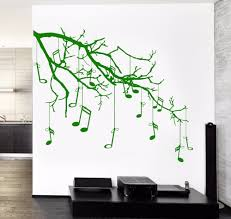 online get cheap wall sticker notes tree aliexpress com alibaba 2016 new popular wall vinyl music tree branch notes cool guaranteed quality decal free shipping