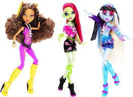 amazon com monster high music festival doll clawdeen wolf toys