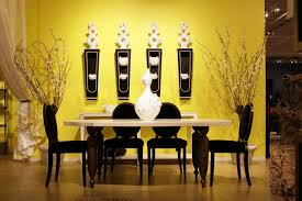 Yellow Interior by Yellow Paint For Dining Room Interior Quecasita