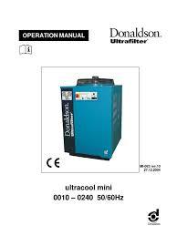 donaldson process chiller manual mini thermostat switch