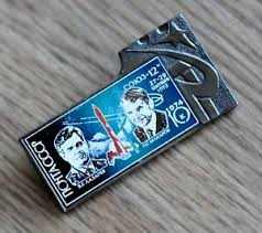vintage soviet russian ussr space program soyuz 12 pin badge ebay