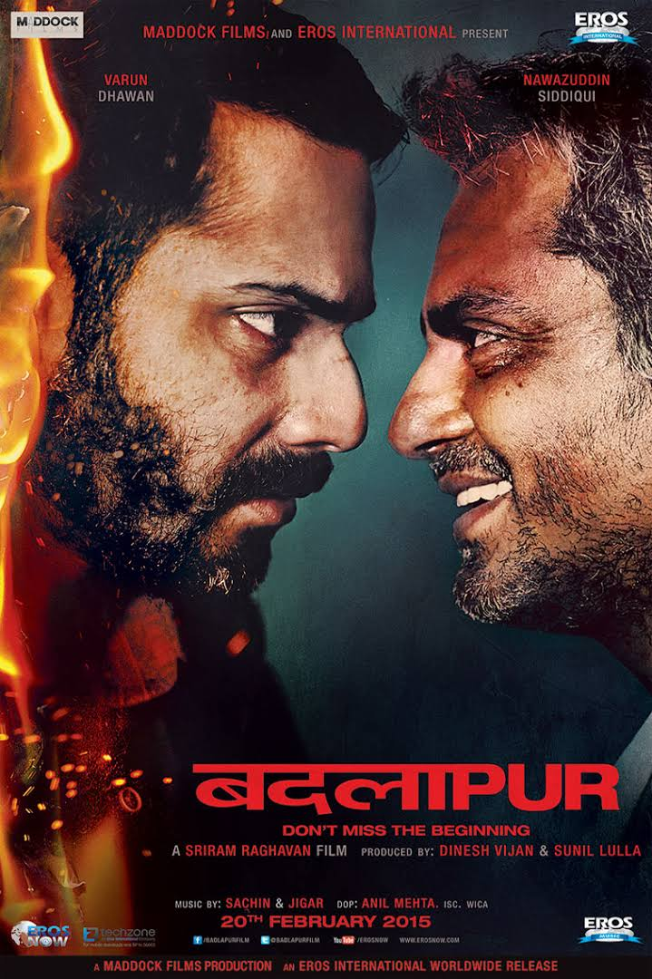 Download Badlapur (2015) Hindi Movie DVDRip 720P