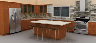 adding an ikea kitchen island for more functionality